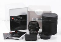 Leica SUMMILUX-M 28mm f/1.4 ASPH Black 11668 M8 M9 M9P M240 M-P