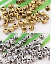 Wholesale 112/240Pcs Tibetan Silver/Gold Spacer Beads 4mm(Lead-free)