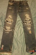 one of a kind VINTI ANDREWS X LEVIS X ADIDAS Men's Jeans Size: W 30 L 30