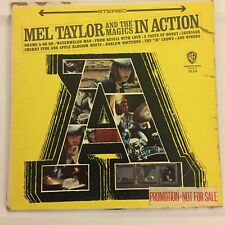 Mel Taylor and the Magics in Action Warner Bros. 1624 Promo Stereo Ventures