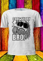 Cool Story Bro Funny Cool Hipster T-shirt Vest Tank Top Men Women Unisex 2247