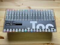 Copic Sketch Basic 72 color set Marker illustration Markers Pen NEW