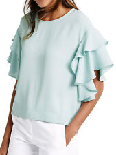 MARKS & SPENCER COLLECTION FLAMENCO SLEEVE TOP