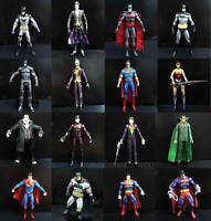 "Dc Direct superman batman Bizarro The joker super boy RA's AL GHUL  Figures 6"""