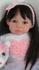 "Big 26 ""Reborn Toddler/Baby Girl doll  ""Chanelle"" -from Jannie De Lange sculpt"