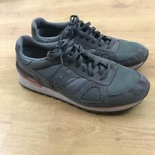 Saucony Shadow Original Dark Grey Pink Trainers Sneakers S2108-650 Size 12