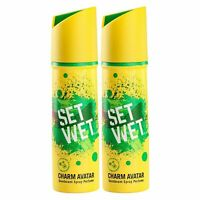 Set Wet Charm Avatar Deo & Körperspray für Herren Packung 2 150 ML