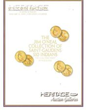 Heritage Jim O'Neal Collection of Saint Gaudens $10 Indians Auction Catalog 09