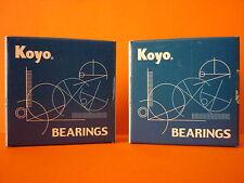 DL1000 V STROM 02 - 09 K2 - K9 KOYO REAR WHEEL BEARINGS