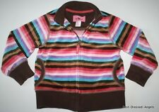 BABY GAP Woodsy Treehouse Striped Velour Jacket HARD TO FIND