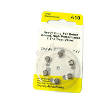 12 A10 10 PR70 7005ZD 1.4V Zinc Air Hearing Aid Battery