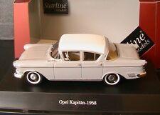 OPEL KAPITAN P 2.5 1958 GREY COMO ALABASTER STARLINE 550130 1/43 DIE CAST MODEL