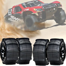 4 Traxxas Sand Paddle Tires & Wheels Assembled and ready to use TRA3776 *BRAAAP*