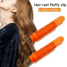 2pcs Volumizing Hair Root Clip Bang Curler Roller Wave Fluffy Clip Styling