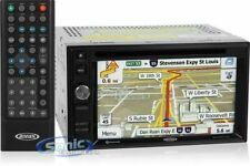 """New listing Jensen Vx6020 Double Din 6.2"""" Cd/Dvd Gps Car Stereo Receiver (Remanufactured)"""