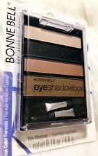 ⭐️ BONNE BELL EYE SHADOW BOX QUAD EYESHADOW 618 MIAMI MATTE SMOKEY BLACK BROWN