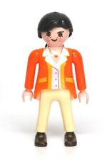 Playmobil Figure Dollhouse Mom Woman School Teacher w/ Orange Shirt 3931 5705