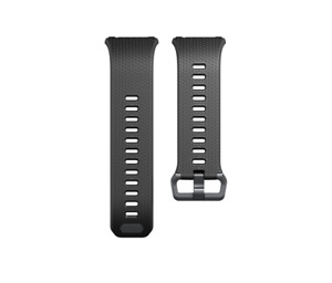 Original OEM Fitbit Ionic Watch Rubber Band Strap Wristband Charcoal Smoke Gray