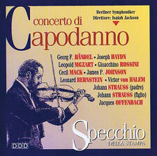 Concerto di Capodanno di Berlino barbuto sotto lsaia JACKSON CD