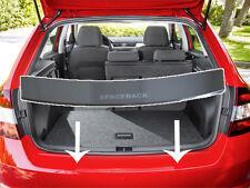 Rear Bumper Profiled Protector Stainless Steel Cover Skoda Rapid Spaceback 2013-
