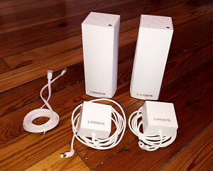 Linksys - Velop AC2200 Tri-Band Mesh Wi-Fi 5 System (2-pack) - White