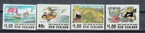 New Zealand: 1997 Cartoonists set  of 4 Stamps .L/Jury 1353-1356. MUH & Cheap