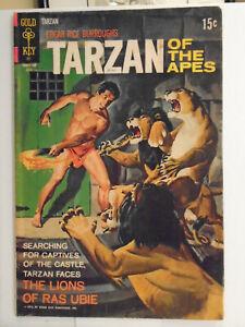 Gold Key TARZAN OF THE APES #201 (1971) Barry Montague, Taitu Tessama, Ras Ubie
