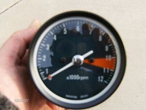 Honda CB400F Speedometer and Tachometer Gauges Restored Matching Set