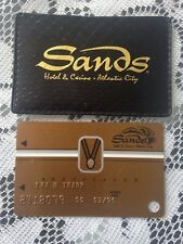 Sands Casino Atlantic City Ambassador Card Vip W/Sleeve