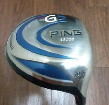 "PING G5 460CC TITANIUM R.H. Men DRIVER- 47 1/2"" /10.5 Deg. Graphite Regular FLEX"