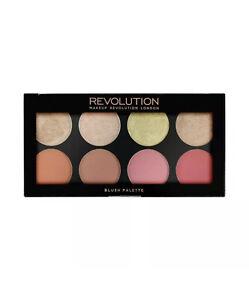 Makeup Revolution Powder Blushes Highlight palette Blush Goddess