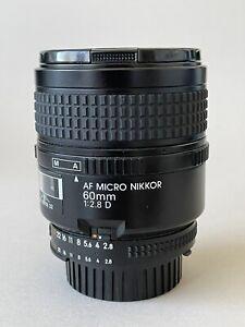 NIKON AF Micro Nikkor 60mm 1:2,8 D, gebraucht