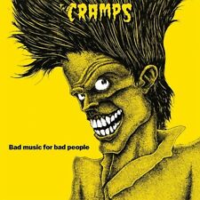 The Cramps - Bad Music For Bad People LP - BRAND NEW - Re-issue Yellow Vinyl