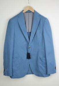 Gant Classic Fit Summer Twill Homme ( Ue ) 48 Ou ~ Bleu Moyen Blazer 38914_ Es
