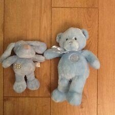 2 X Baby Boy Soft Toys