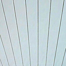 10 Gloss White Chrome Strip Bathroom Cladding Ceiling Panels PVC Shower Wet Wall