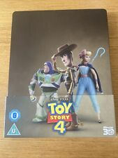 Toy Story 4 3D + 2D Steelbook, UK Exclusive Limited Edition Blu-Ray*Region Free*