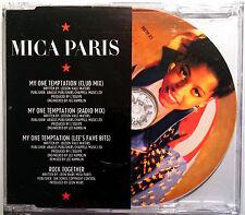 "Mica Paris ""My One Temptation"" 4-TRACK-Maxi-CD 1988"