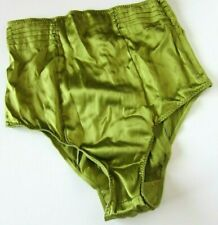 NWT Victoria's Secret VTG 2008 Retro 40s Style Silk High Cut Brief Panty MEDIUM