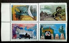 Canada View Of Canada Block Of 4 Complete Set - 4v MNG