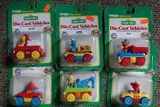 Circa 1998 Tyco Matchbox Sesame Street die cast vehicles Lot MOC (complete set)