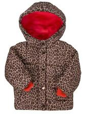 CARTER'S GIRLS ANIMAL PRINT CHEETAH WINTER COAT JACKET SIZE 18 MONTHS $70 NWT