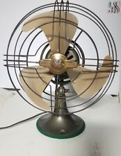 Antique Electric fan by General Electric Steel cage and blade still running