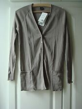 Brand New Women's Oscalito 100% Cotton Cardigan Made in Italy Fortnum and Mason