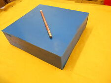 BLUE POLYURETHANE BAR plastic bar sheet flat stock 2 7/8