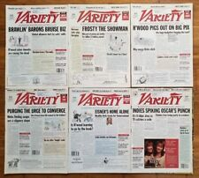 Variety Lot of 6 Issues 1997 Fitz, My Best Friend's Wedding, Discovery Channel+