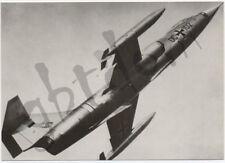 Lockheed F104 G Starfighter - Deutsche Bundeswehr - AIRPLANE AIRCRAFT