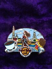 Hard Rock café Antwerp Cityscape Girl serie 2020 LE150 pin #622085