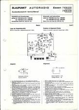 Blaupunkt Original Service Manual für Essen 7639200 7639209