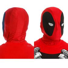 Marvel Deadpool Adult Halloween Full Face Costume Mesh Eyes Accessory Cosplay